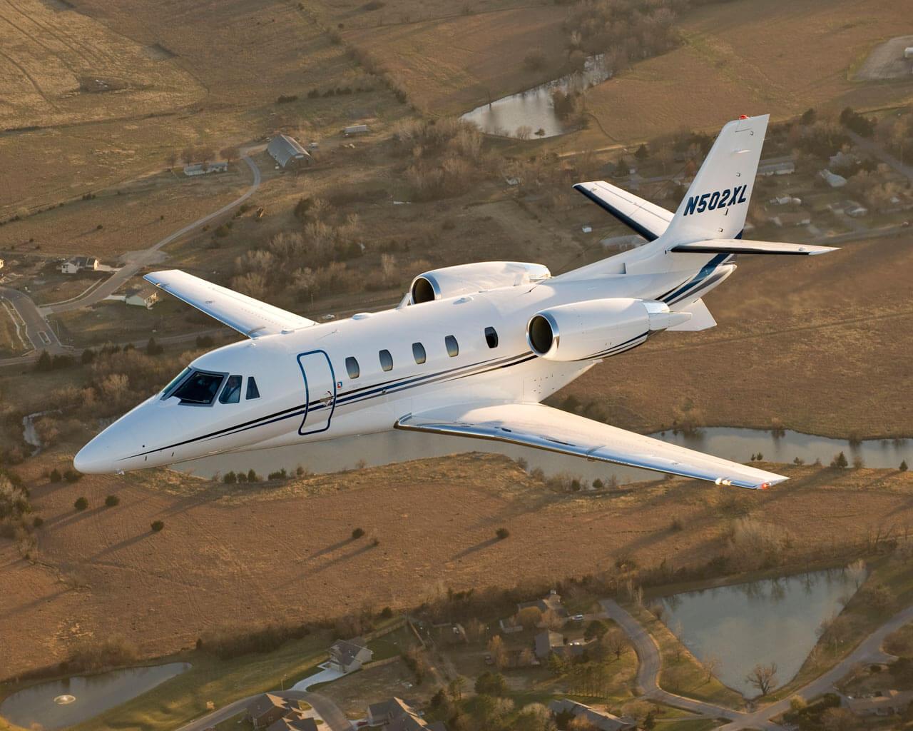 Самолет Cessna Citation XLS 9