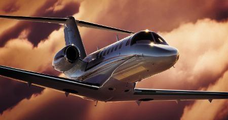Частный самолет Citiation CJ3