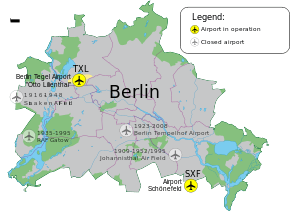 Airports of Berlin