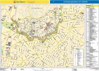 Map of Nicosia center pdf