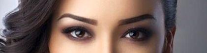 Kazakh woman eyes