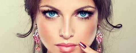 Polish woman eyes