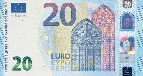 eur 20 bank note