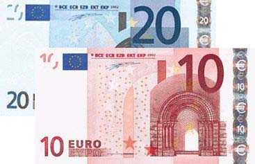 eur 30 bank note