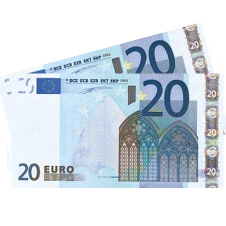 eur 40 bank note
