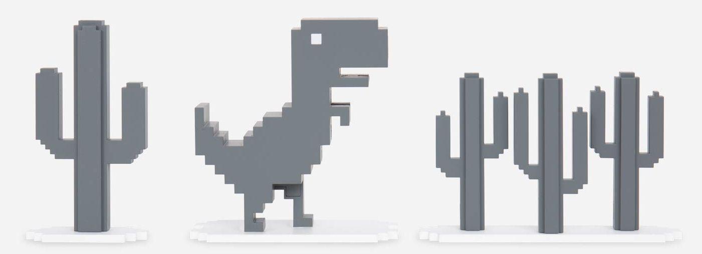 T-Rex Run Chrome Dinosaur Game
