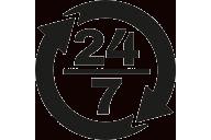 24/7 nonstop